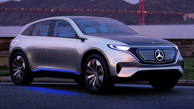 Электрокар будущего от Mercedes-Benz